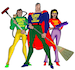 Super Hero Cleaners